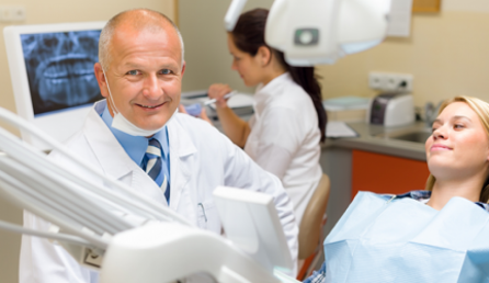 Ballarat-Dentist-Working-With-Patient